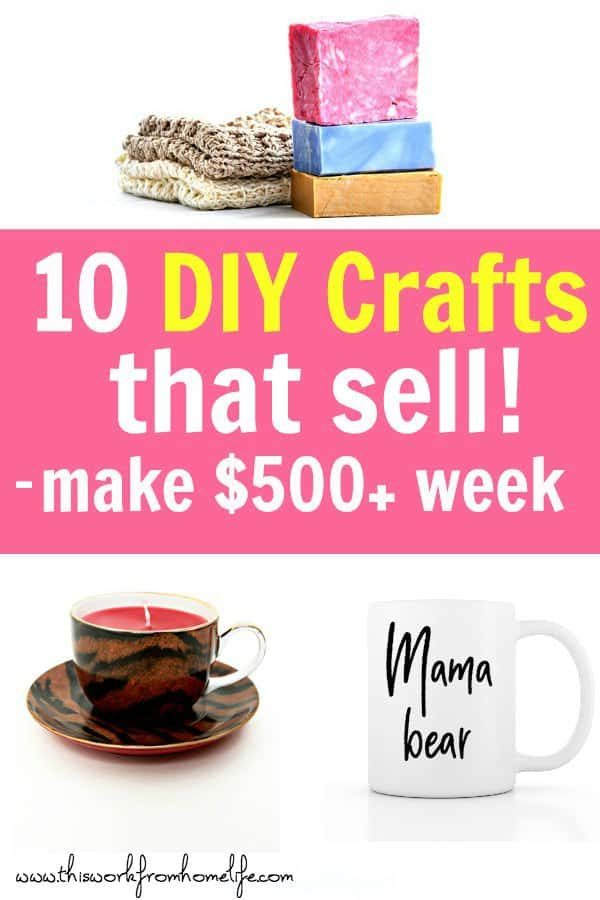 10 Easy Diy Crafts To Sell Or Give As Gifts This Work From